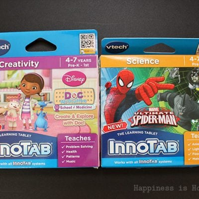 Holiday Gift Idea + Giveaway: InnoTab Doc McStuffins & Spiderman Games