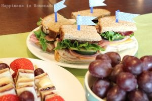 Junior Sports Team Post Season Sandwich Party
