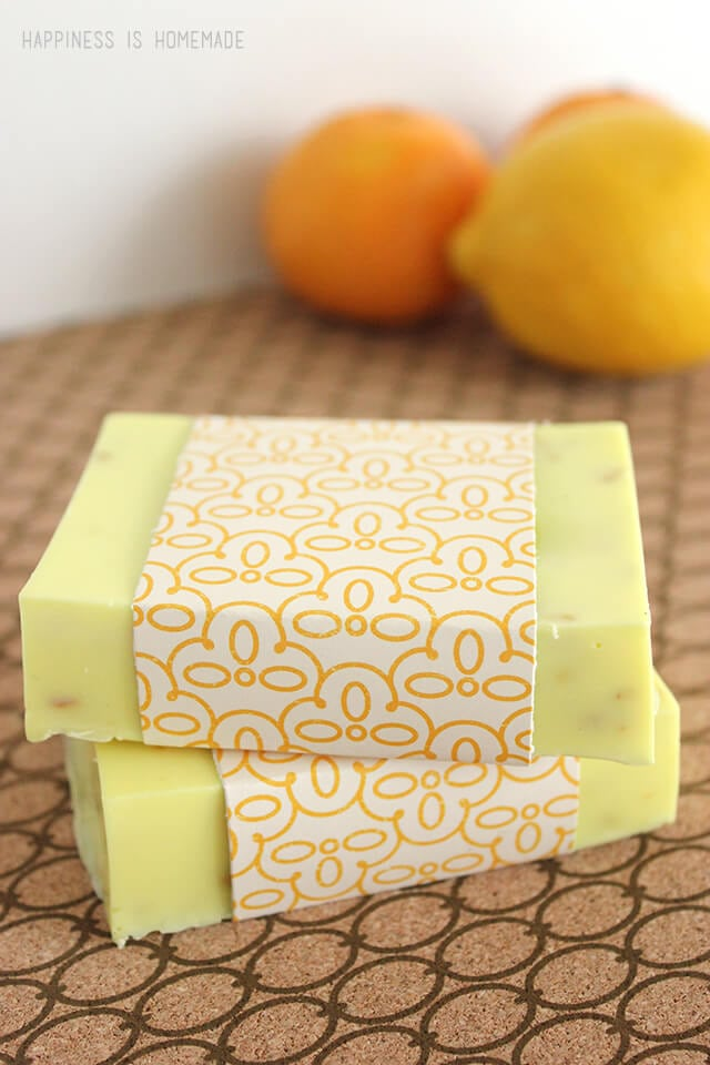 Make Your Own Citrus Antibacterial Soap with ALL Natural Ingredients