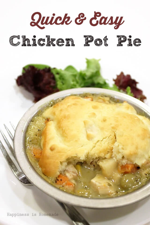 Quick and Easy Chicken Pot Pie Recipe with Campbells Soup