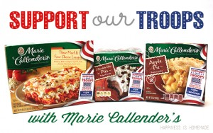 Support Our Troops with Marie Callender's