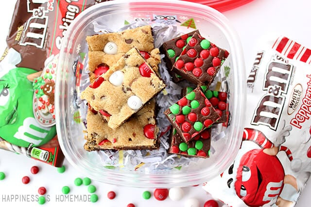 Holiday Baking with M&Ms