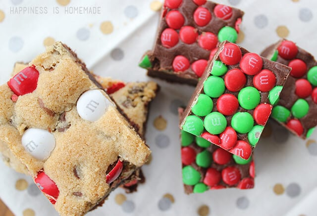 M&Ms Holiday Baking