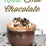 The Best Mint Hot Chocolate Recipe Ever
