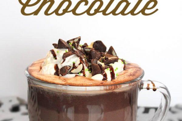 Mint Hot Chocolate