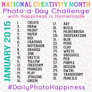Monthly Photo Challenge January