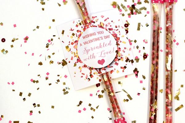 Confetti Valentine Printable