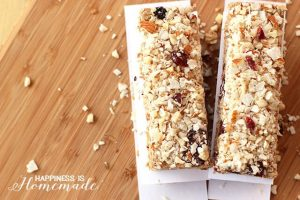 Gluten Free Berry Coconut Almond Protein Bars