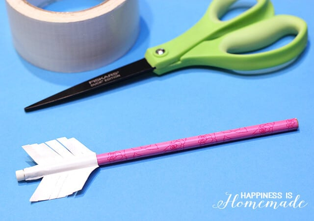 How to Make Pencil Arrow Valentines Day Treats