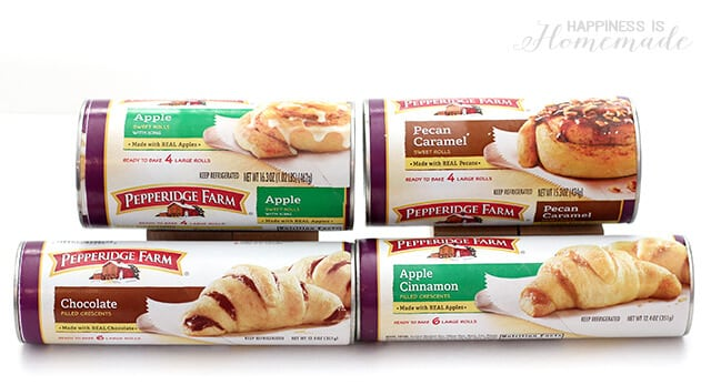 Pepperidge Farm Crescent Rolls and Sweet Rolls