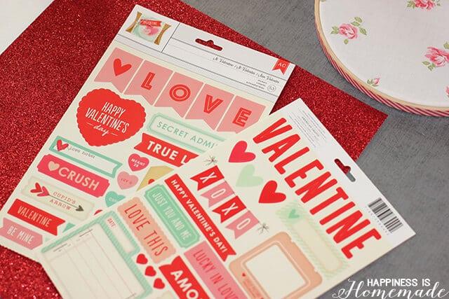 Target One Spot Valentine's Day Stickers #OneSpotValentine #TargetOneSpot