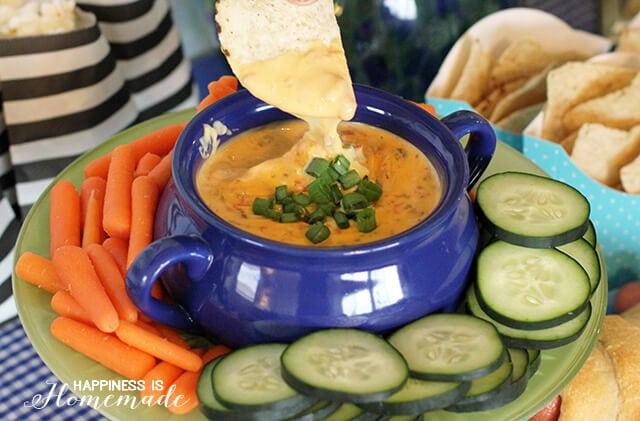 Ultimate 3-Ingredient Queso Dip