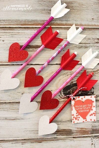 Valentine-Heart-Pencil-Arrows