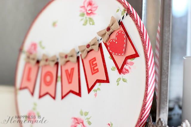 Valentine's Hoop Art with #TargetOneSpot