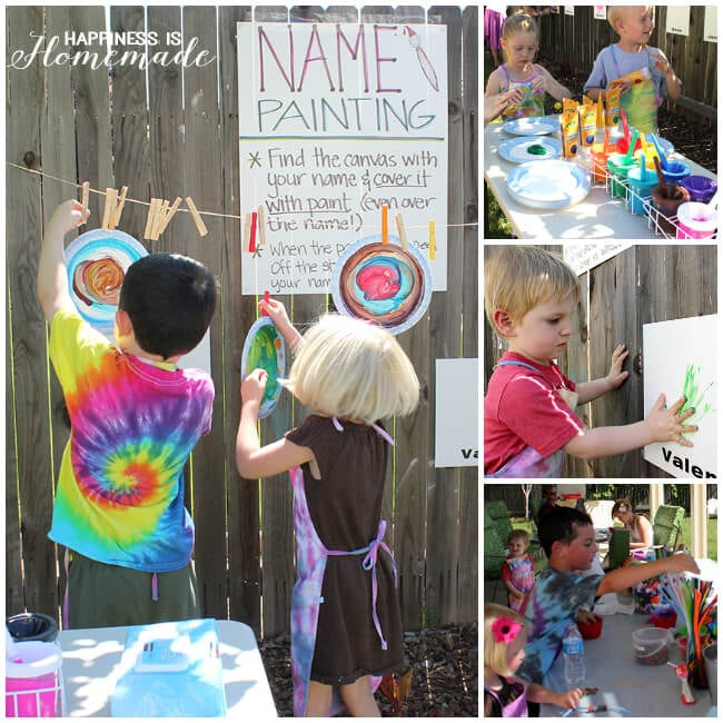 Art Playdate Party