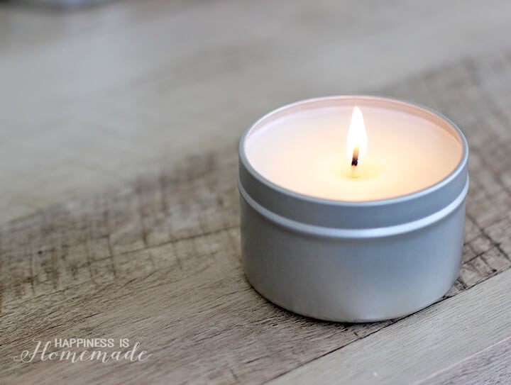 DIY Citrus Fresh Candle