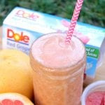 Red Grapefruit & Pineapple Slim Down Smoothie