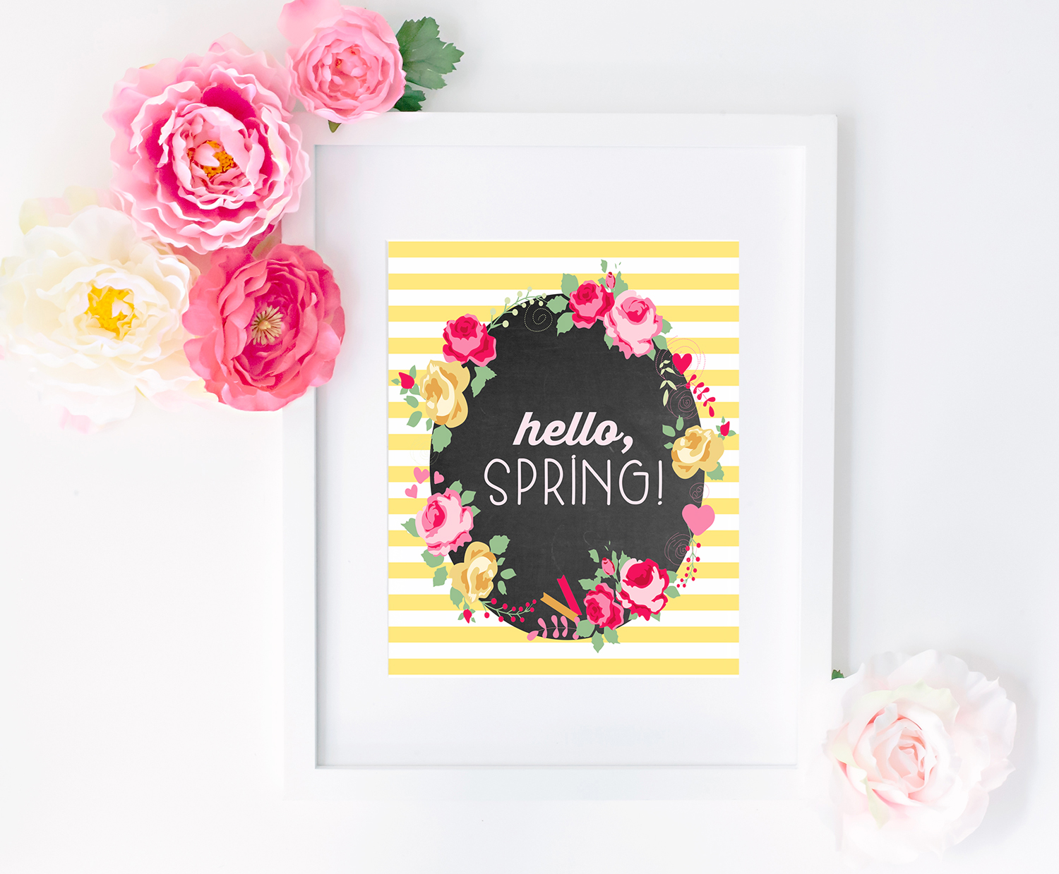 picture about Spring Printable named Hi, Spring!\