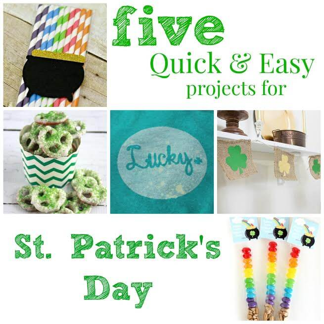 Quick & Easy St Patricks Day Craft Projects