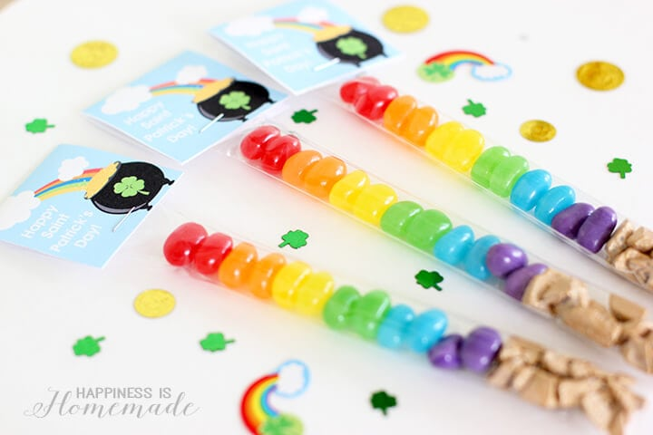 Rainbow Candy Treats for Saint Patrick's Day