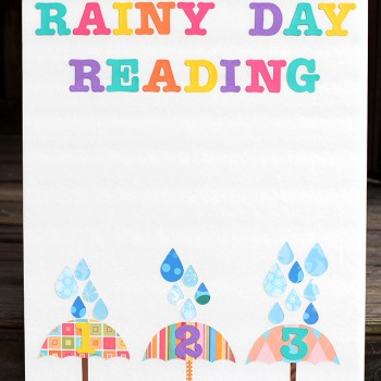 Rainy Day Reading Chart