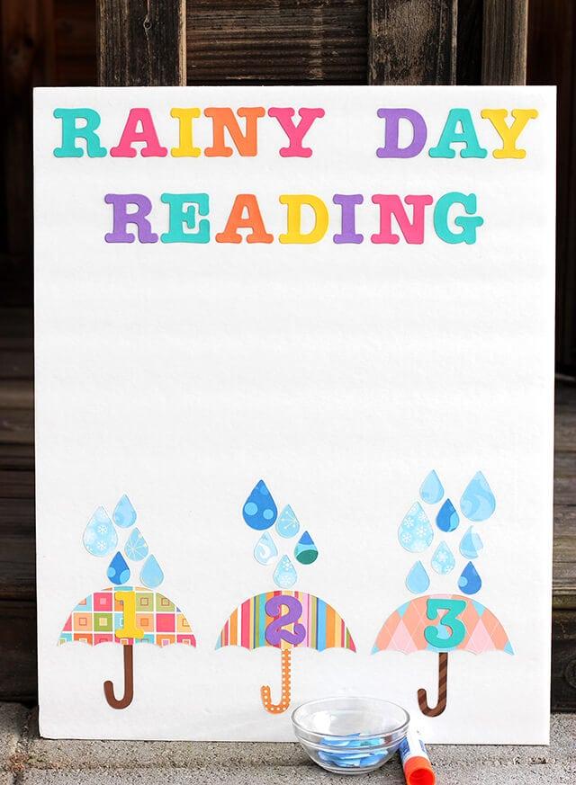 Rainy Day Reading Chart