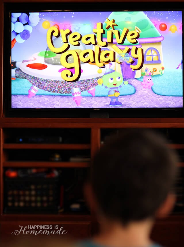 Watching Creative Galaxy on Amazon Prime