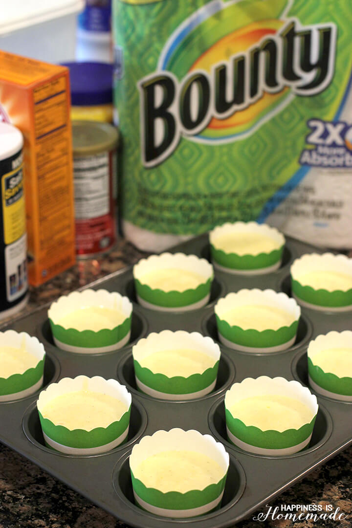 Baking Vanilla Cupcakes