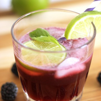 Blackberry and Lime Fizz Cocktail Recipe