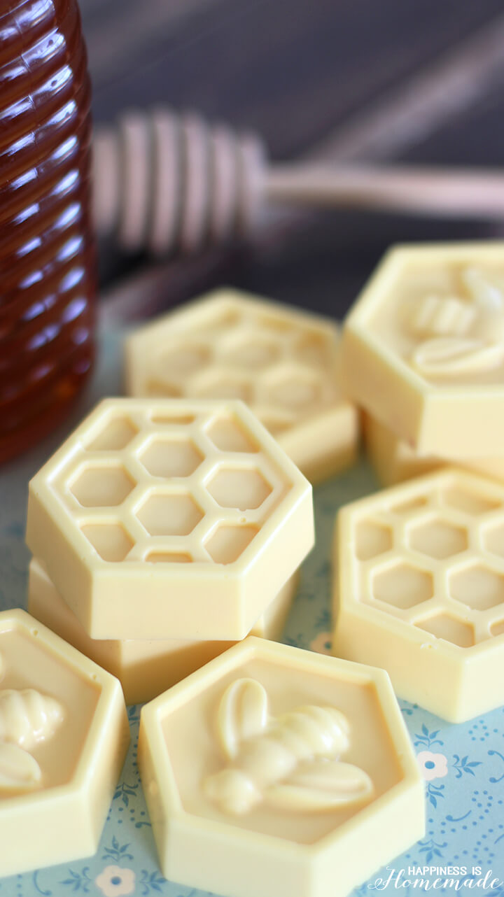 DIY Milk & Honey Soap in 10 Minutes