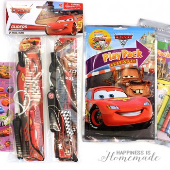 Disney Side Cars Party Favors