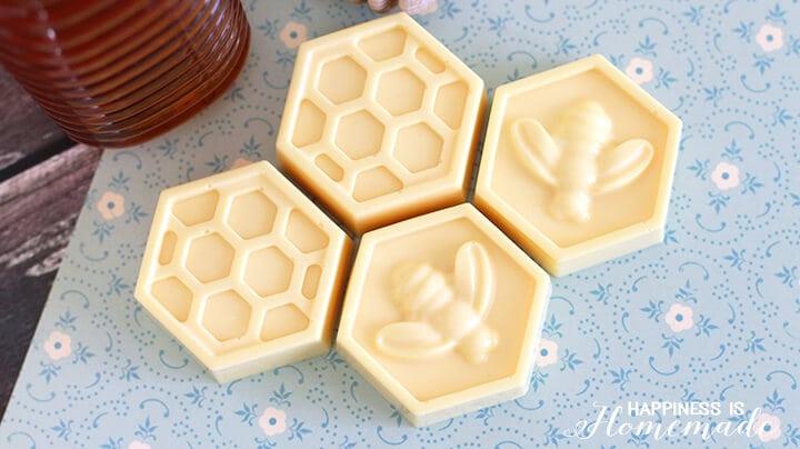 Easy DIY Honey & Milk Soap