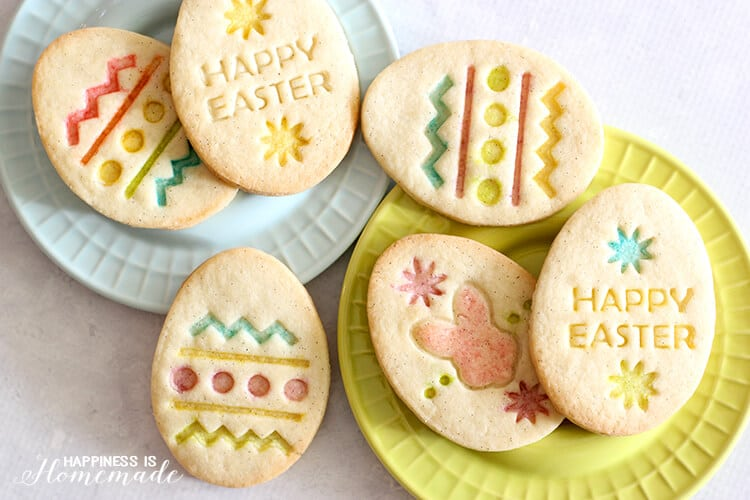 Gluten Free Easter Egg Sugar Cookies
