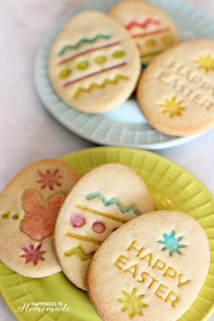 Gluten Free Vanilla Bean Easter Cookies
