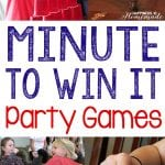 10 Awesome Minute to Win It Party Games