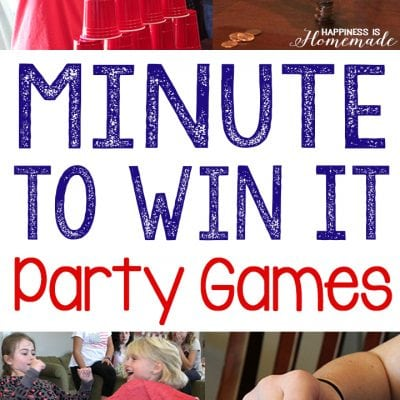 10 Awesome Minute to Win It Games
