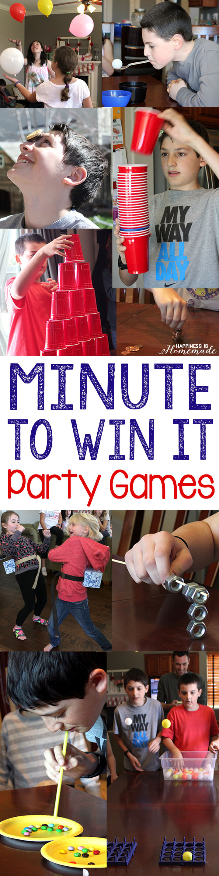 Minute to Win It Birthday Party Games 2