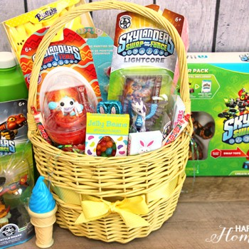 Skylanders Swap Force Easter Basket