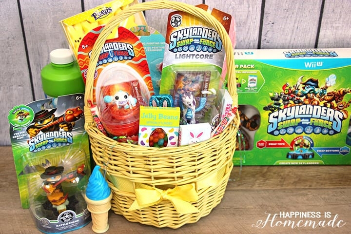 Skylanders easter baskets happiness is homemade skylanders ftc skylanders swap force easter basket negle Choice Image