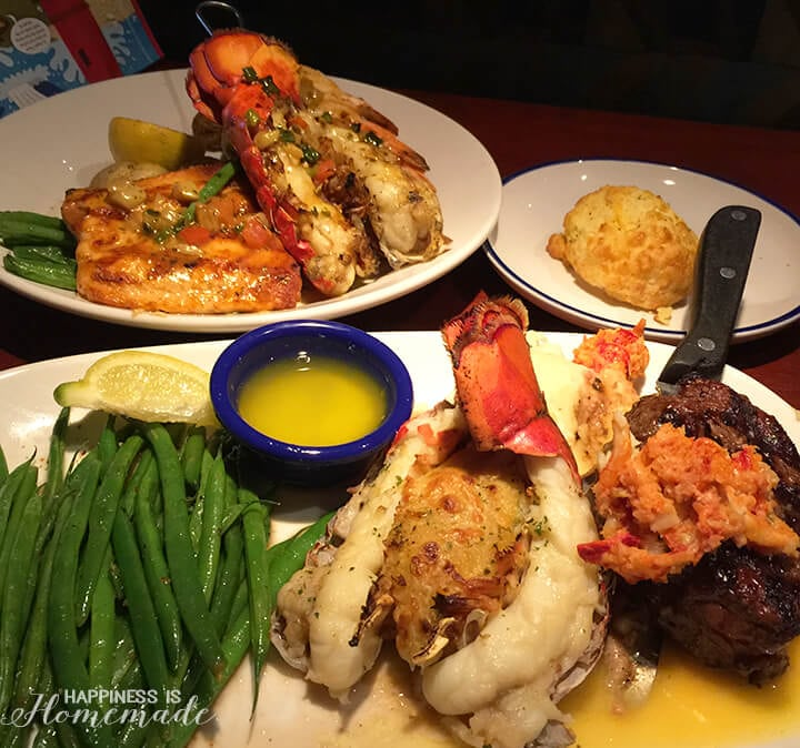 Ultimate Surf and Turf Dinner at Red Lobster