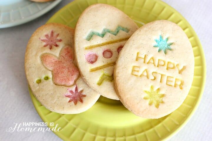 Vanilla Bean Easter Sugar Cookies - Gluten Free