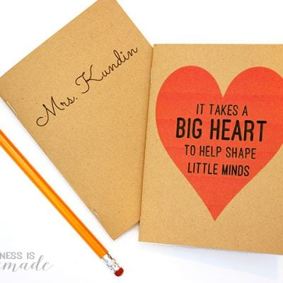 Quick & Easy 10-Minute DIY Notebooks