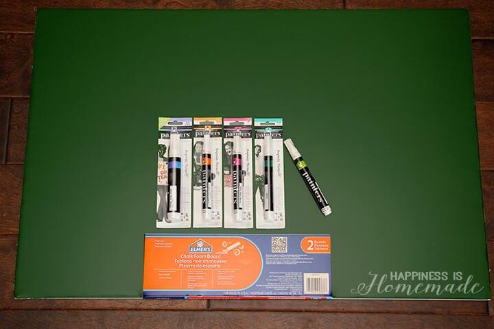 Elmer's Green Chalkboard Foam Board