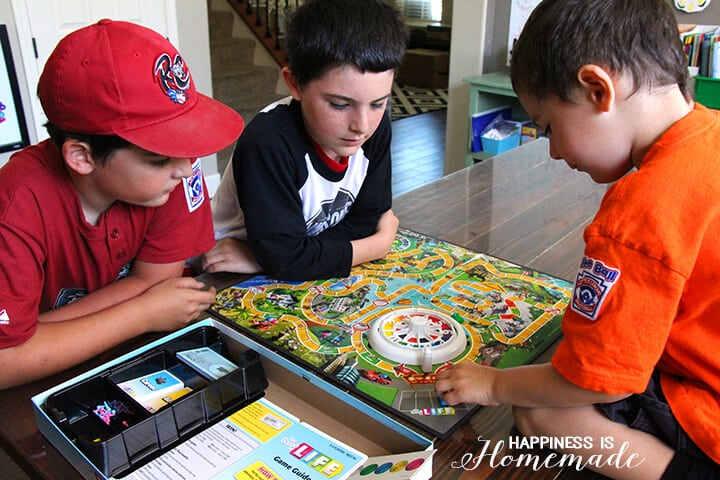 Family Game Night - The Game of Life