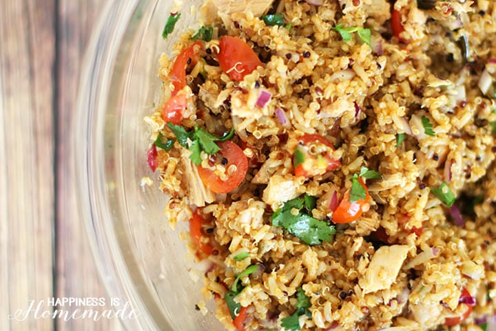 Quinoa and Spicy Tuna Salad