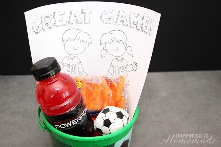 Sideline Soccer Snack Idea 2