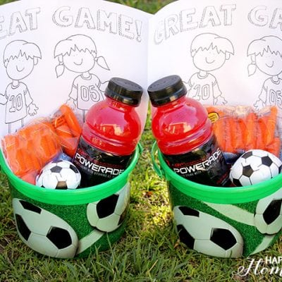 The Ultimate Soccer Team Snack + Printable