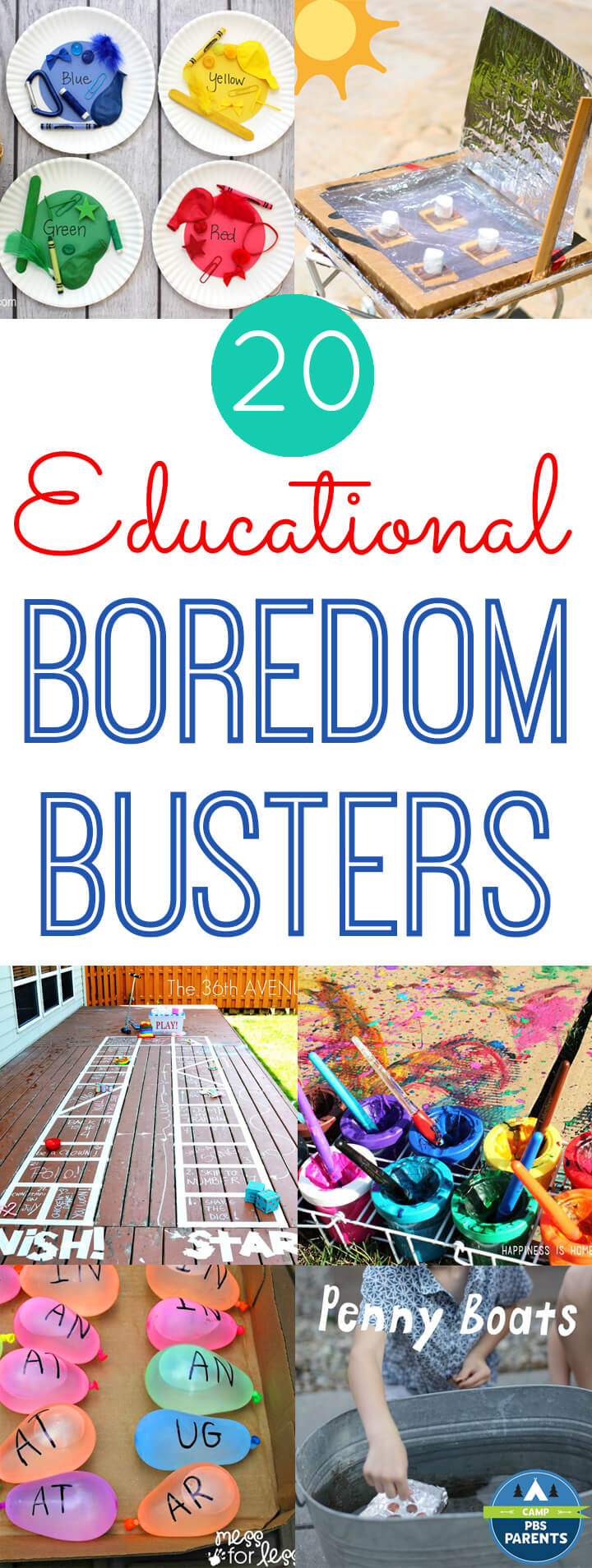 20 Educational Boredom Busters