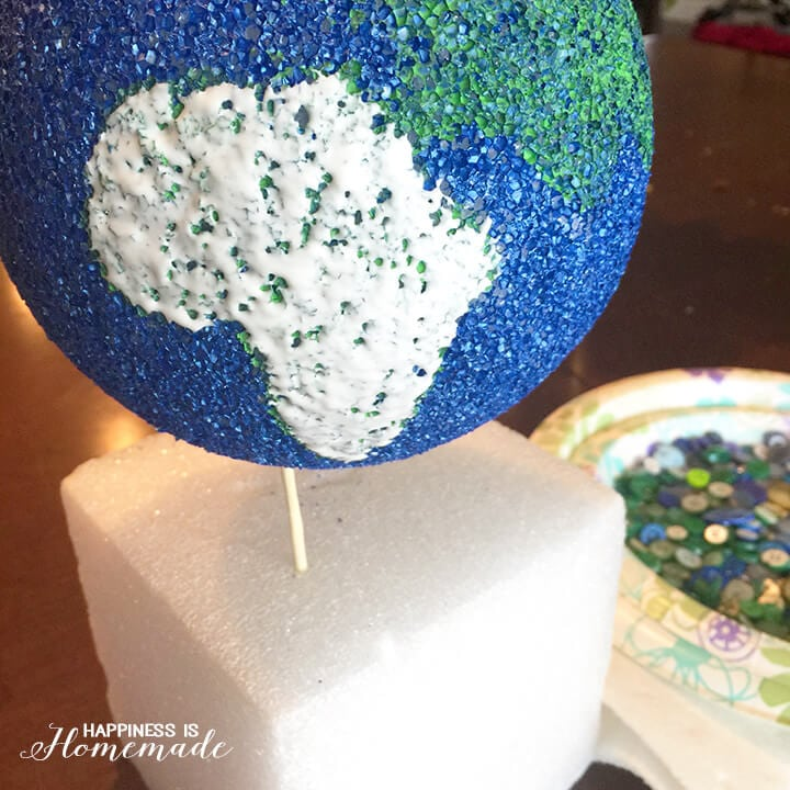 Button Globe Making in Progress