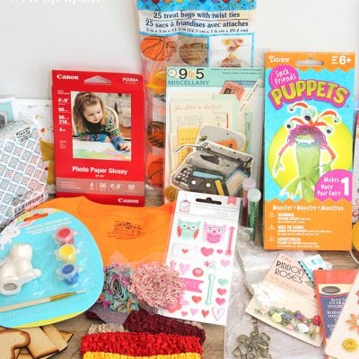 Giveaway: Lots of Craft Supplies!